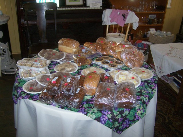 Recent bake sale at local non profit...