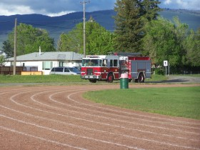Voght park, the site of many events including fire practice and the Merritt Country Run