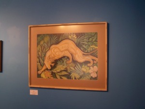 A work displayed at a Community Art show in Merritt. By Andrea Rogers.: Photo KDG
