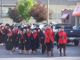 Graduation parade, school district 58  file photo KDG
