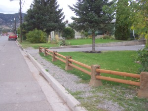 Even a small fence make a boundry against guessing File photo KDG