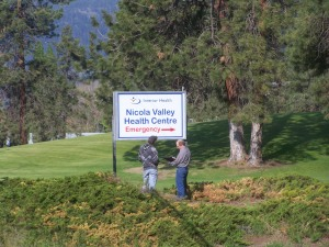 the Nicola Valley still enjoys the close proximity of a small hospital with a full Lab File Photo KDG