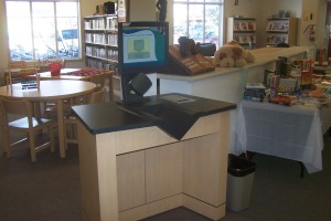 Library self checker File photo KDG
