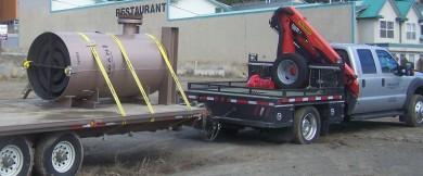 Pig catcher for pipeline, File photo KDG