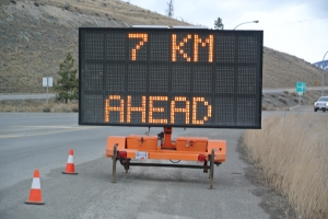 watch for signs similar for these in construction zones. File photo KDG