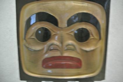 North West Coast Art Mask File Photo KDG