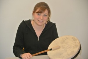 First drum made at local school.