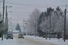 Hoar frost, Merritt BC  Photo KDG