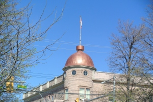 The Dome of the Coldwater hotel in Merritt. Photo KDG