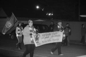 Merritt girl guides involved in Black Friday parade November 2016 Photo KDG