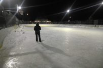 Monday evening saw use of the Voght Street Rink used Photo KDG